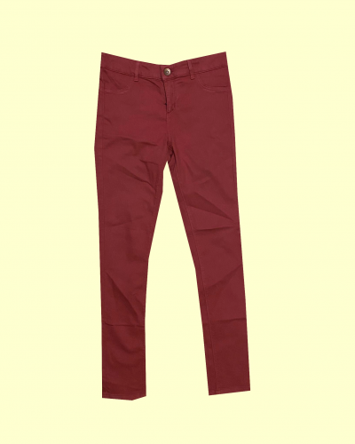 Women's Red Jeans Size 10