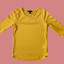 Bright Yellow Top, Size 8, #1136