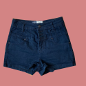 Blue Denim Shorts, Size – 8, #1139