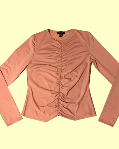 Pink Sleeved Top (Size 14)