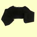 Black Long Sleeved Crop top #367
