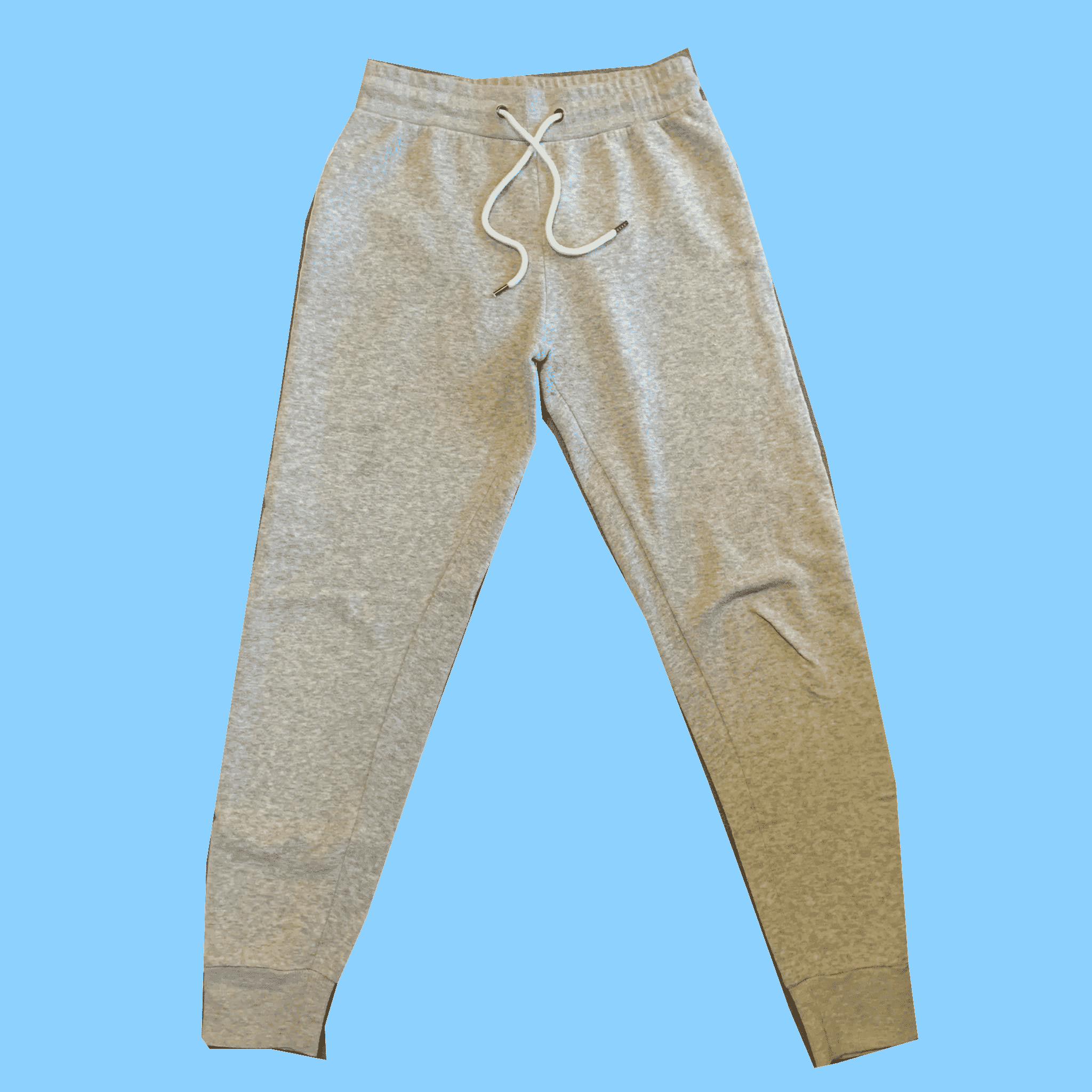 Grey Joggers Size-12. #381