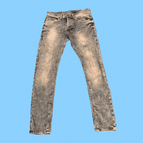 Faded Denim Jeans in Size Waist 32 inches Length 32 inches