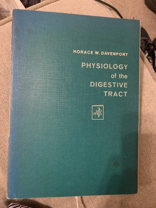 Physiology of the Digestive Tract – Davenport (2nd edition)