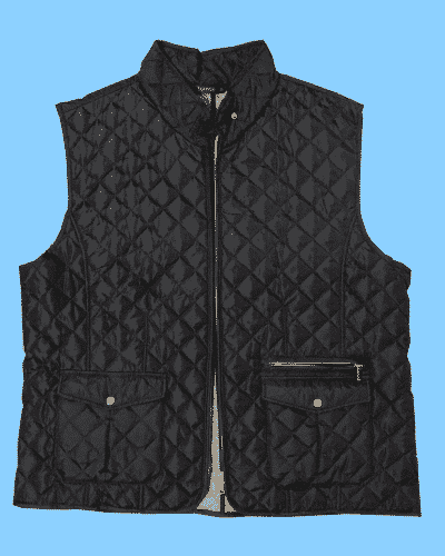 Black Quilted Gilet (Size 20)