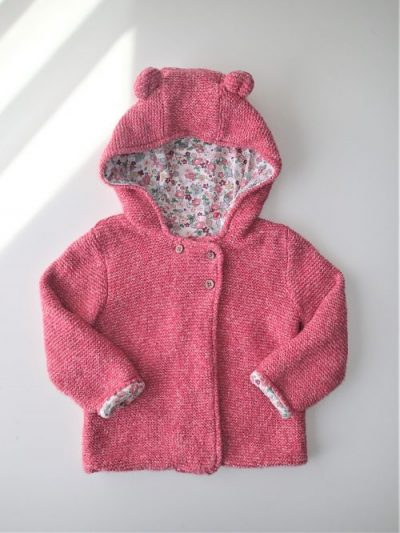 Knitted hooded cardigan   12-18 months   TU