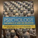 Psychology. The science of mind and body